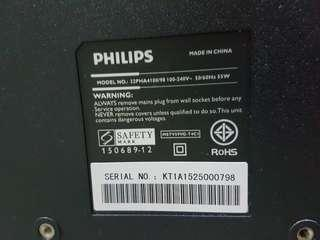 Philips 32 inch TV for sale!