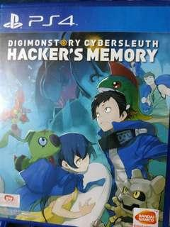 Digimon Cynersleuth Hacker's Memory R3 Ps4