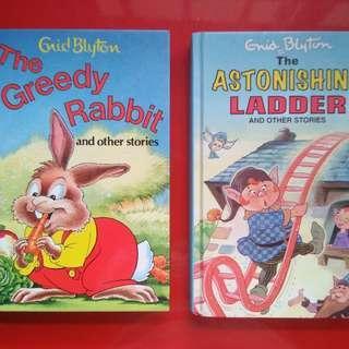 A set of 2 Enid Blyton books