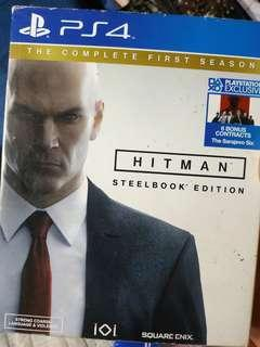 Hitman First Season Steelbook Edition R3 PS4