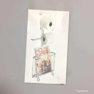 浴室備用微生紙架 雜誌架