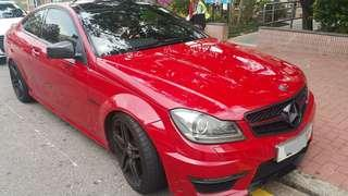 BENZ C63 AMG Coupe 2012首次登記