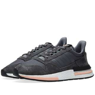 Adidas ZX 500 RM Grey white clear orange 85ea61b40