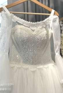Wedding Gown- one piece only