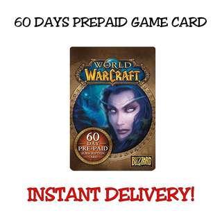 World of Warcraft (US) 60 Days Prepaid Game Card