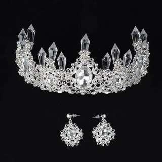 Bridal Hair Accessories crown tiara