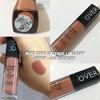 MakeOver Intense Matte Lip Cream