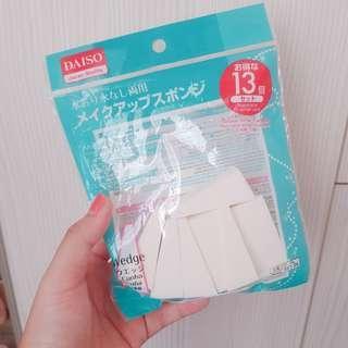 🚚 三角海綿 化妝海綿 乾濕兩用