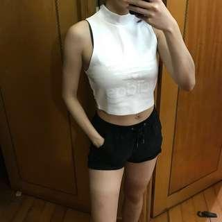 Adidas original white top