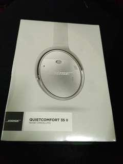 New Bose QC35 Series II Silver