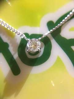 ❇️✨ 鉑金天然鑽石(32份)頸鏈 ✨❇️