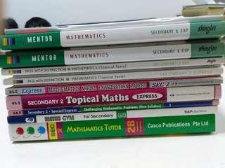🚚 Sec 1 & 2 Math Assessment n Guide Books