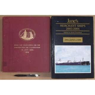 Lloyds Rules, Jane's Merchant Ships