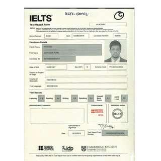 Juragan sertifikat IELTS ori