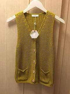 Tee Tree honey mustard cardigan 🍯