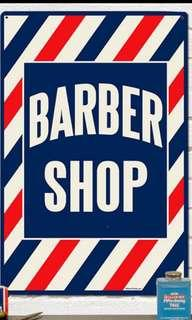 Barber berpengalaman diperlukan
