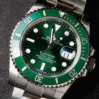 Brand new hulk Submariner. Local AD with current date. G card named  but stickers intact.