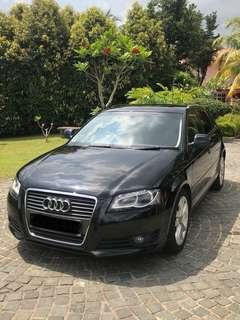Audi A3 extended sportsback - rare and luxurious! Available for short and Long term rental lease
