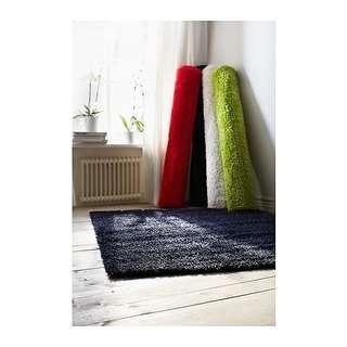 Ikea High Pile Rug (Black)