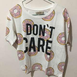 Pull n bear donut shirt