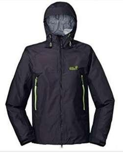 Jaket outdoor JACKWOLFSKIN oldstock not the northface salewa eiger rei