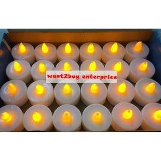 Flameless Candles LED Light - Set of 12