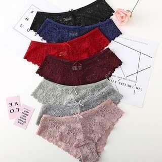 Lace Panty / Briefs / Low Waist / Women Underwear