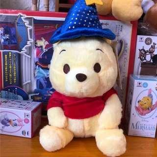 Winnie The Pooh 小熊維尼公仔(魔法師)