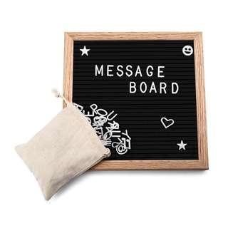 Felt Message Board