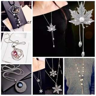 🆕️ Buy 2 @ RM50 Korean Long Necklaces #bundlesforyou