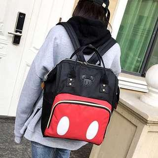 🆕 Popular Mickey Mouse Canvas Backpack [Instock!!]