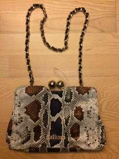 Galliano handbag snake pattern 蛇紋手袋