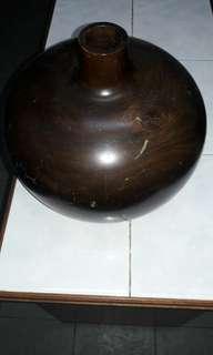 Big Wooden Vase