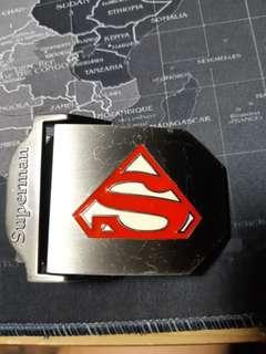 🚚 Superman皮帶扣/皮帶頭