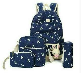 Bunny 5in1 backpack