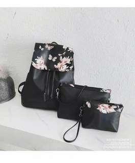 Floral 3in1 backpack