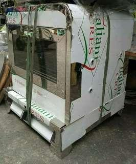 Stainless Steel Gas Type Pizza Oven