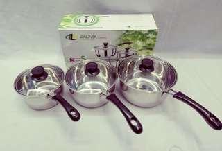 New 3in1 Sauce Pan set
