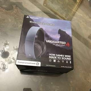 Sony Wireless Stereo Headphone Uncharted 4 Edition