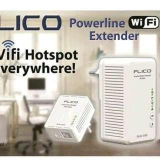PLICO PLW 500 POWER LINE EXTENDER WIFI