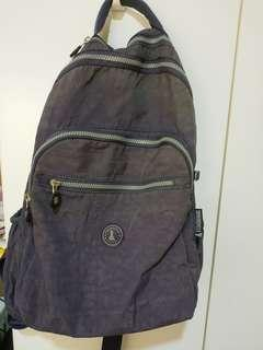 🚚 [冰山袋鼠]深紫色學生後背包