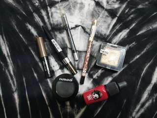 Eyeshadow Eyeliner eyebrow Lipstick