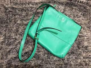Kate spade crossbody bag- Green