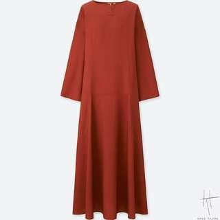 Uniqlo Hana Tajima Tencel Dress