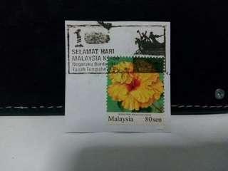 Malaysia Stamp Flower