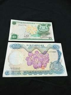 Old Orchid Series notes 2pc offer $168