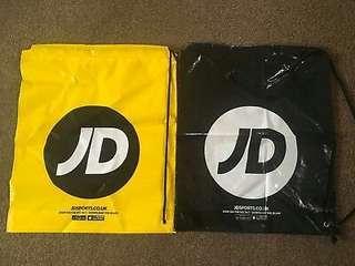 JD Duffel Draw String Bag