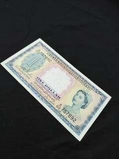 Old Malaya and British Borneo  $1 old notes