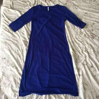 ✨ Blue Michaela Dress