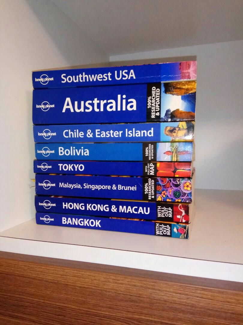 6 Lonely Planet Books for Sale, Books & Stationery